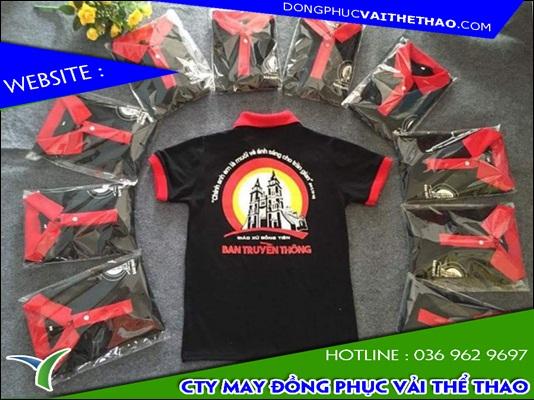 xưởng may áo đồng phục