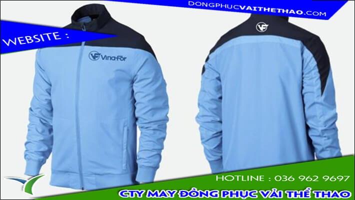 công ty may áo gió đồng phục