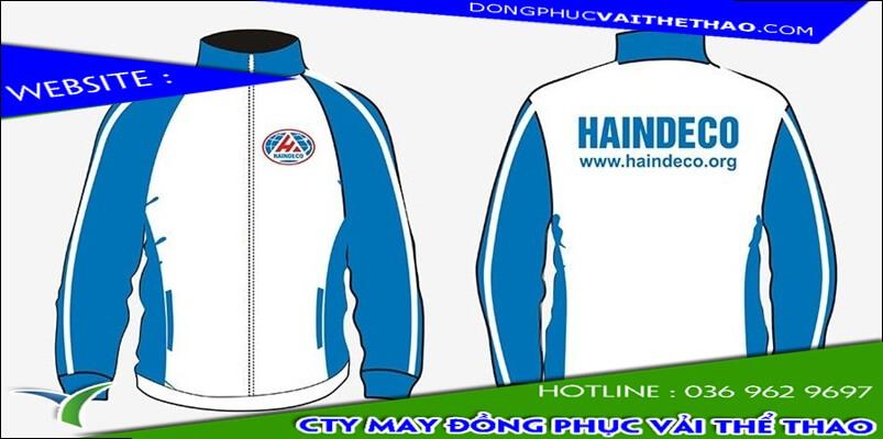 may áo khoác đồng phục chất lượng