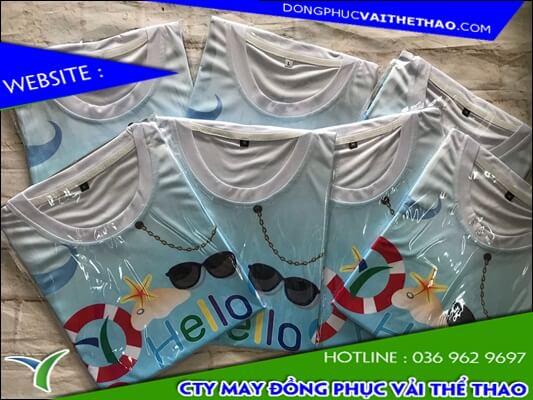 may áo team building