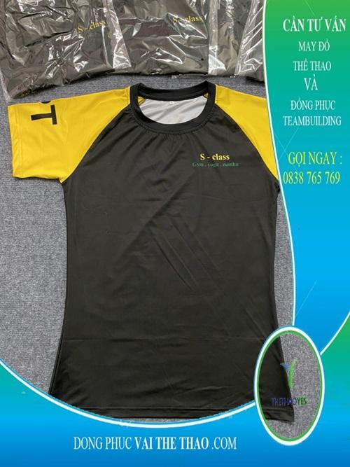 may áo thun đồng phục pt zumba