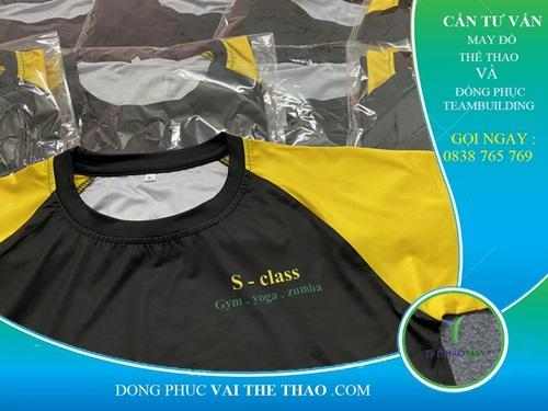 may áo thun đồng phục PT