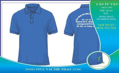 may áo đồng phục theo yêu cầu