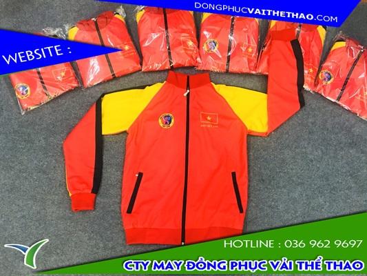 áo khoác thun đồng phục