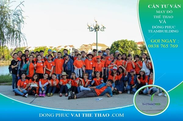 áo thun team building thoáng mát 2019