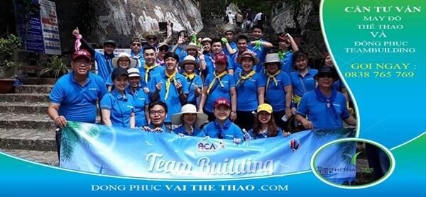 áo thun team building thoáng mát 2020