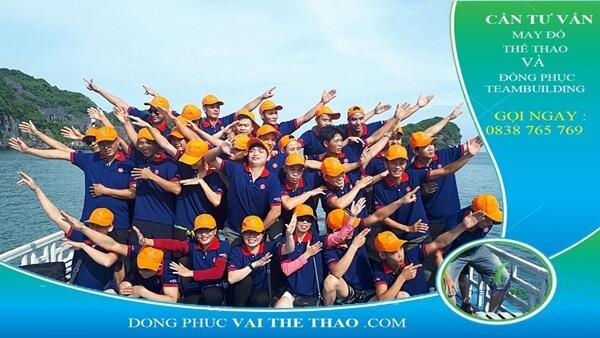 áo thun team building thoáng mát xuất khẩu