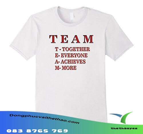 áo thun team building big size