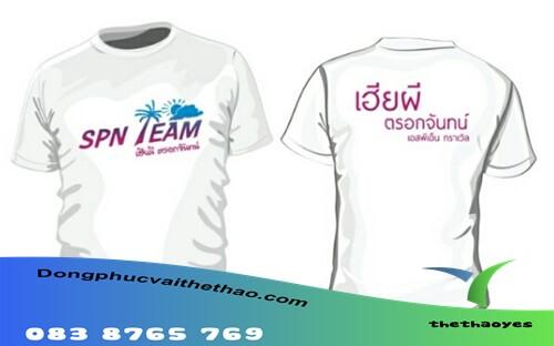 áo thun team building fake