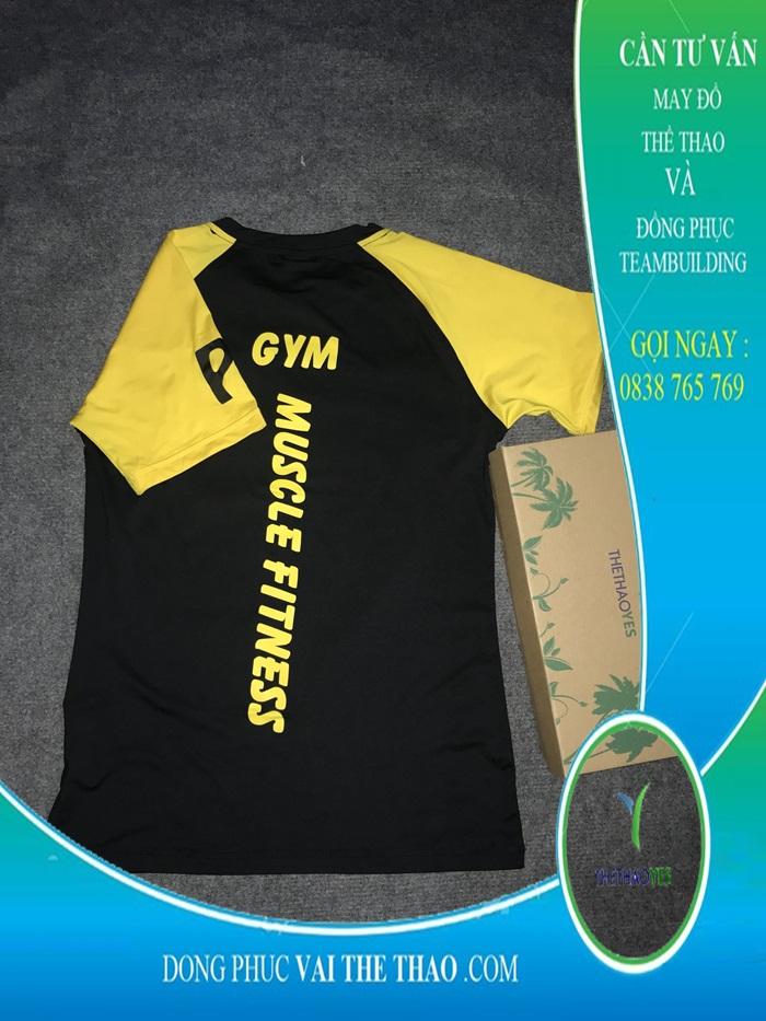 cơ sở may áo thun gym cao cấp