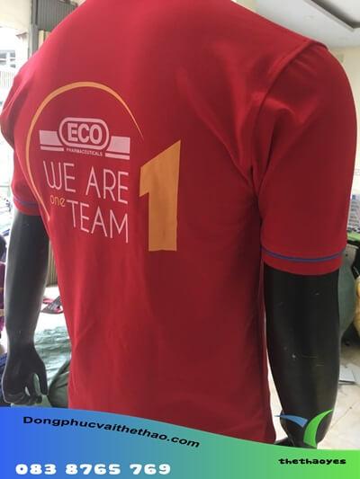 xưởng may áo đồng phục team building