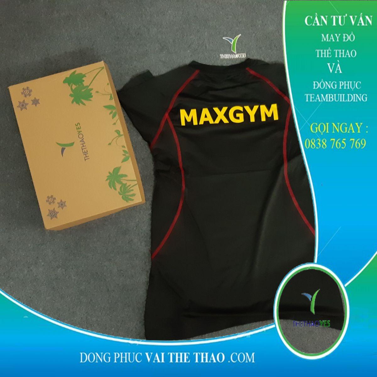 may áo thun tập gym