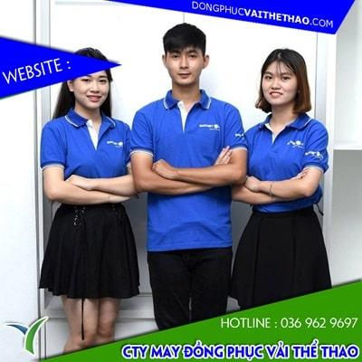 xưởng may áo phông đồng phục