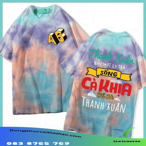 áo thun team building slogan hay giá rẻ