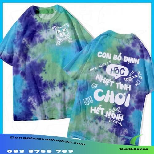 áo thun team building slogan hay 2021