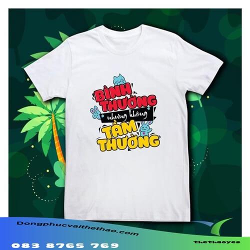 áo thun team building slogan hay đẹp