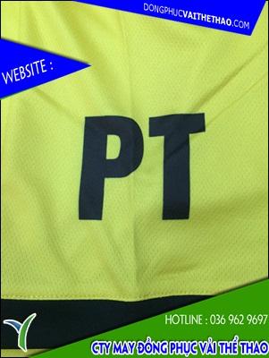 áo đồng phục vải thể thao cao cấp