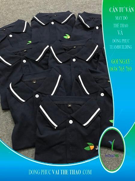 May áo thun đồng phục chất lượng