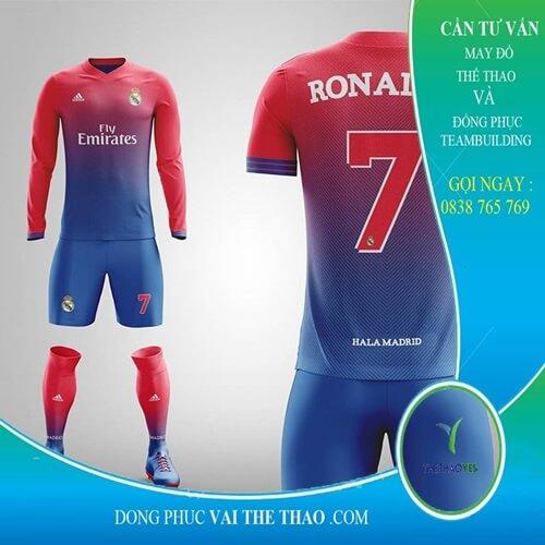 bộ quần áo thể thao bóng đá