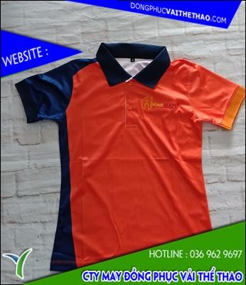 xưởng may áo thun đồng phục