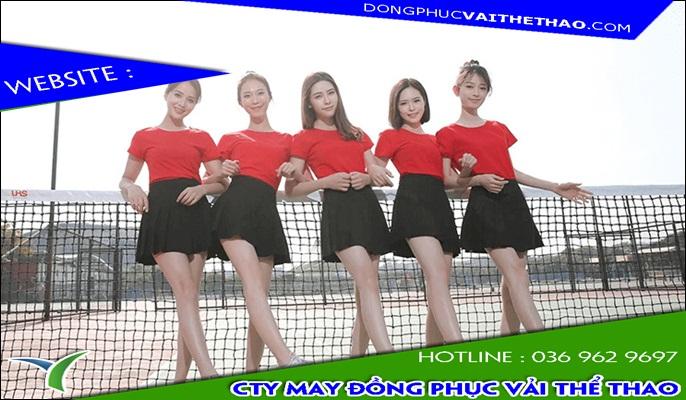 áo đồng phục nhóm nữ