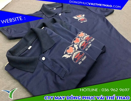 Nhà máy may áo đồng phục nhóm