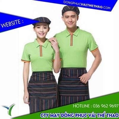 mẫu may áo thun đồng phục