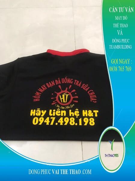 xưởng nhận may áo thun đồng phục quận 12