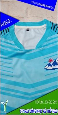 may áo đồng phục bóng đá