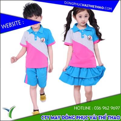 xưởng may áo đồng phục vải thể thao