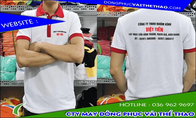 may đồng phục công ty vải cao cấp