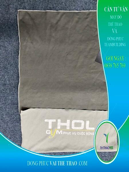 May khăn lạnh thể thao in ấn logo theo yêu cầu Củ Chi