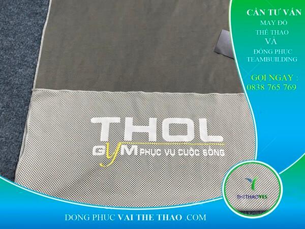 May khăn lạnh thể thao in ấn logo theo yêu cầu Hóc Môn