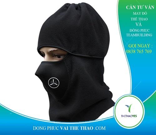 khăn trùm đầu đen