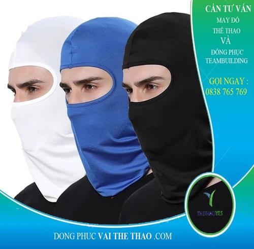 khăn trùm đầu màu đen