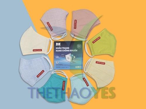 khẩu trang vải kháng khuẩn mùa đông