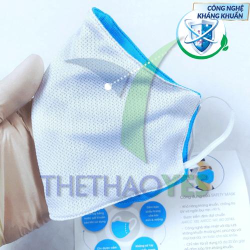 khẩu trang vải kháng khuẩn phong cách