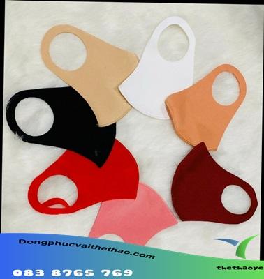 khẩu trang vải kháng khuẩn có nẹp