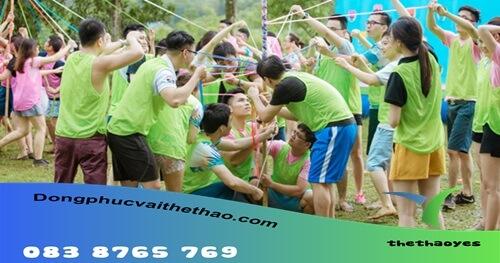 áo lưới chơi team building quận Tân Bình