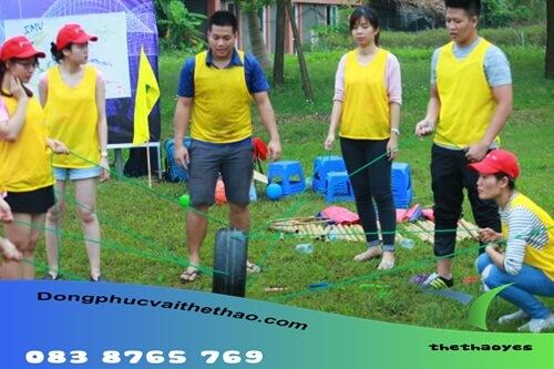 áo lưới chơi team building quận Tân Phú
