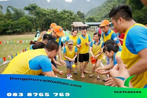 Áo lưới chơi team building 2019