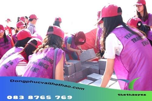 áo lưới chơi team building quận Bình Thạnh