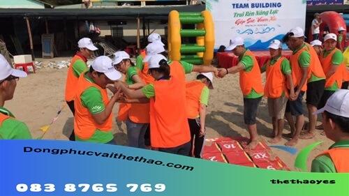 áo lưới chơi team building xuất khẩu