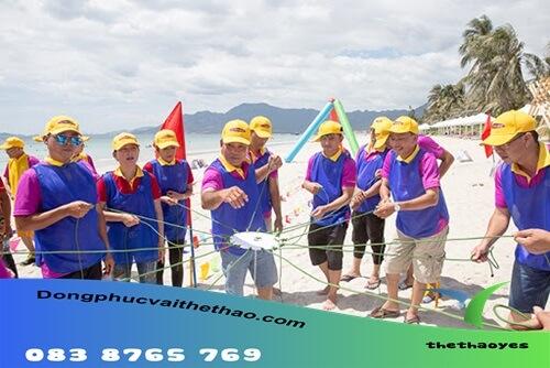 áo lưới chơi team building Bình Chánh