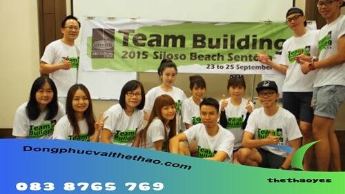 áo team building cao cấp dài
