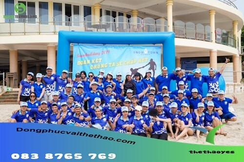 áo thun team building lững