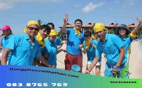 áo thun team building bóng chuyền
