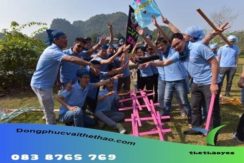 áo thun team building bóng đá