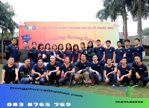 áo thun team building 2020