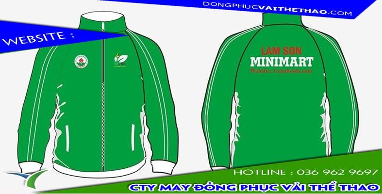 áo khoác đồng phục gió